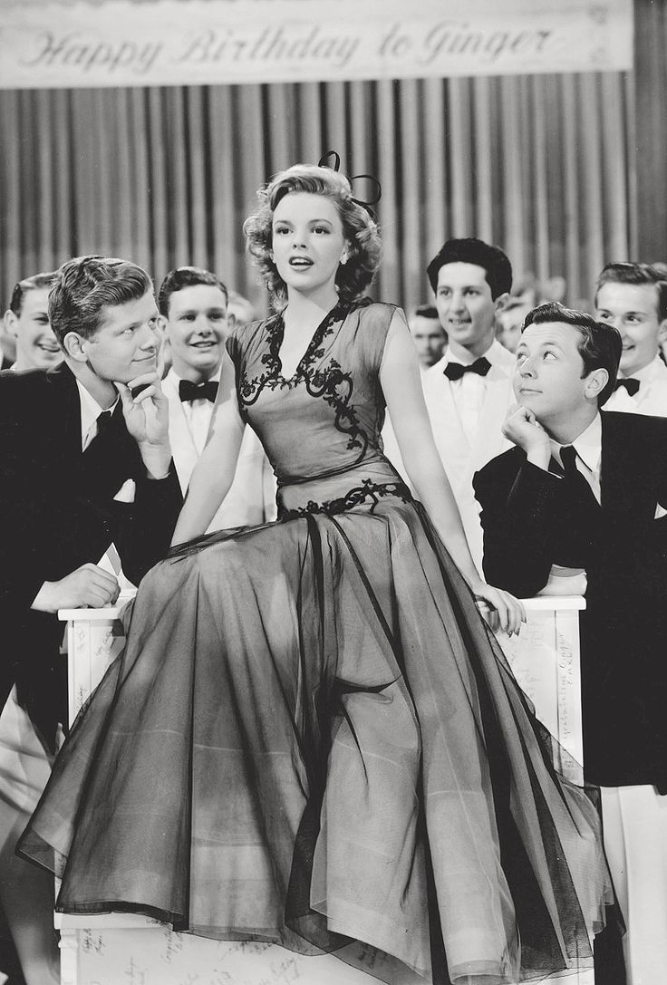 "Judy Garland, 1943.  ""Girl Crazy"""