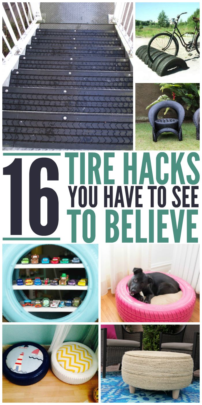 16 Tire Hacks You Have to See to Believe