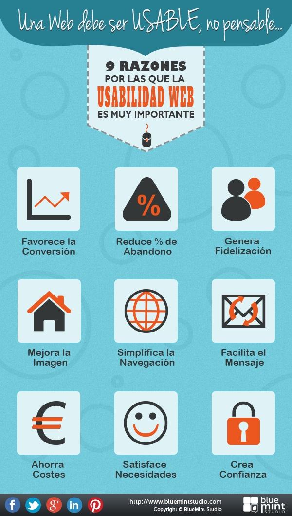9 Razones por las que la #usabilidad web es muy importante