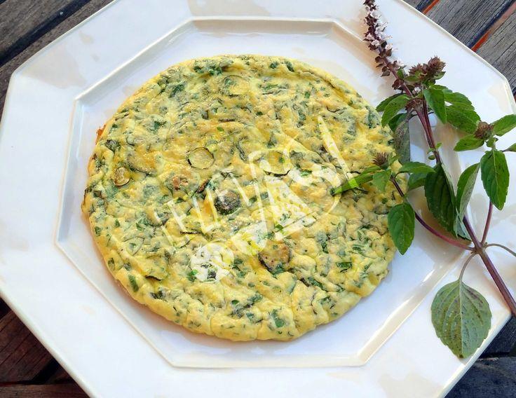Zucchini Omlet