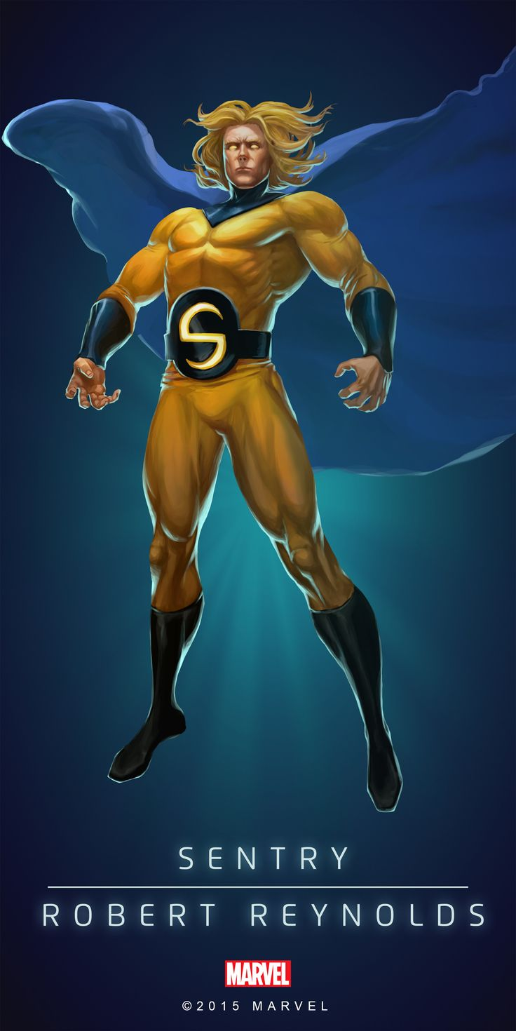 #Sentry #Fan #Art. (SENTRY - RYAN REYNOLDS IN: MARVEL'S PUZZLE QUEST!) BY: AMADEUS CHO! (THE * 5 * STÅR * ÅWARD * OF: * AW YEAH, IT'S MAJOR ÅWESOMENESS!!!™) [THANK U 4 PINNING!!!<·><]<©>ÅÅÅ+(OB4E)(IT'S THE MOST ADDICTING GAME ON THE PLANET, YOU HAVE BEEN WARNED!!!)