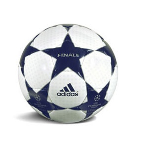 adidas 2003 UEFA Champions Leage Finale Match Soccer Ball: http://www.soccerevolution.com/store/products/ADI_80028_E.php