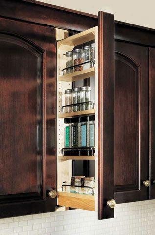 Kitchen Cabinet Organization   Waypoint Living Spaces