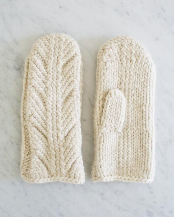 Ancient Stitch Mittens | Purl Soho
