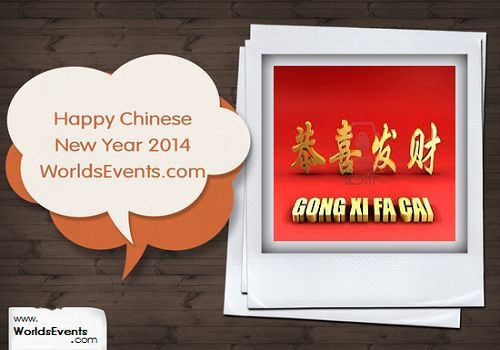 What Is Chinese New Year When Is Chinese New Year 2014