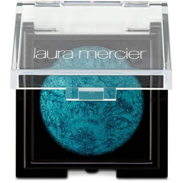 Laura Mercier Wet/Dry Baked Eye Color ($25) ❤ liked on Polyvore featuring beauty products, makeup, eye makeup, eyeshadow, eye shadow, violet sky, laura mercier eye shadow, eyeshadow brushes, laura mercier eyeshadow and paraben free eyeshadow