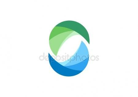 Circle, water, logo, elements, sphere, abstract infinity, letter C, company, corporation - https://depositphotos.com/portfolio-3904401.html?ref=3904401 -   #circle #water #logo #elements #sphere #abstract #infinity #letter #C #company, #corporation #symbol #icon #vector #design #graphic #brand #identity #ideas #green #blue #water #nature #sign #shape