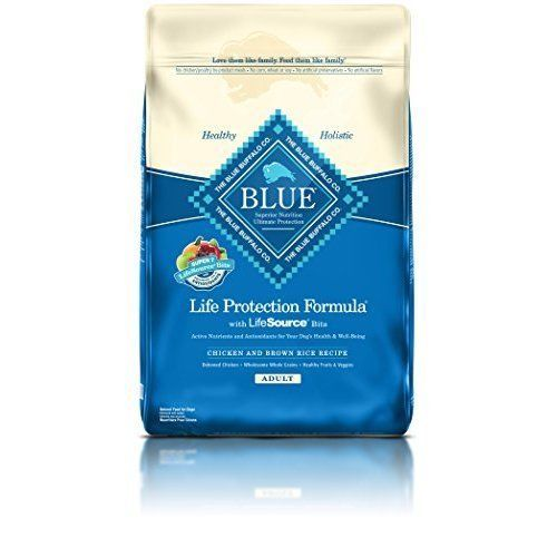 Adult Dry Dog Food Protection Formula Delicious Protein Rich Deboned Chicken #BlueBuffalo