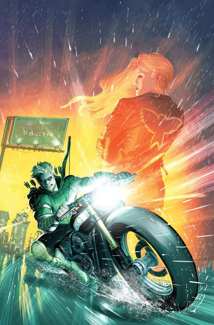 Green Arrow (rebirth)