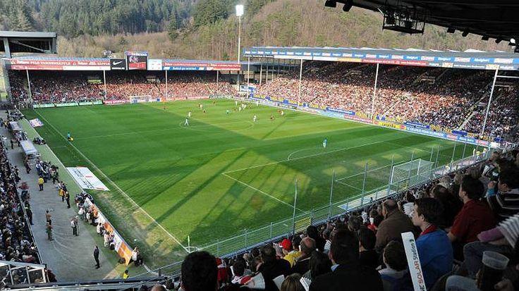 Stadion an der Schwarzwaldstraße - SC Freiburg Capacity: 24.000