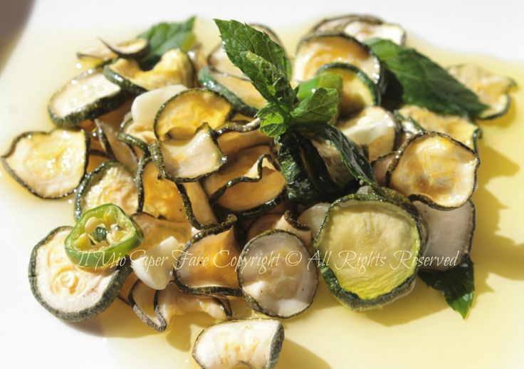 #Zucchine sott'olio croccanti