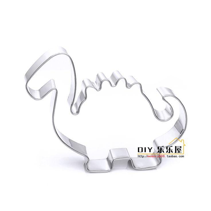 Новая форма мило динозавра из нержавеющей стали печенье плесень торт плесень выпечка плесень оптом - Taobao
