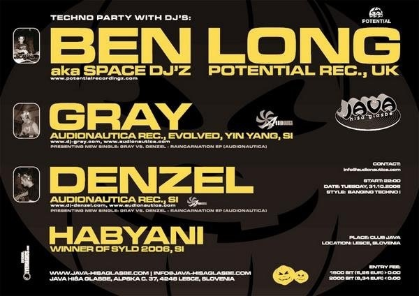Party with Ben Long, DJ Gray, Denzel / 2006