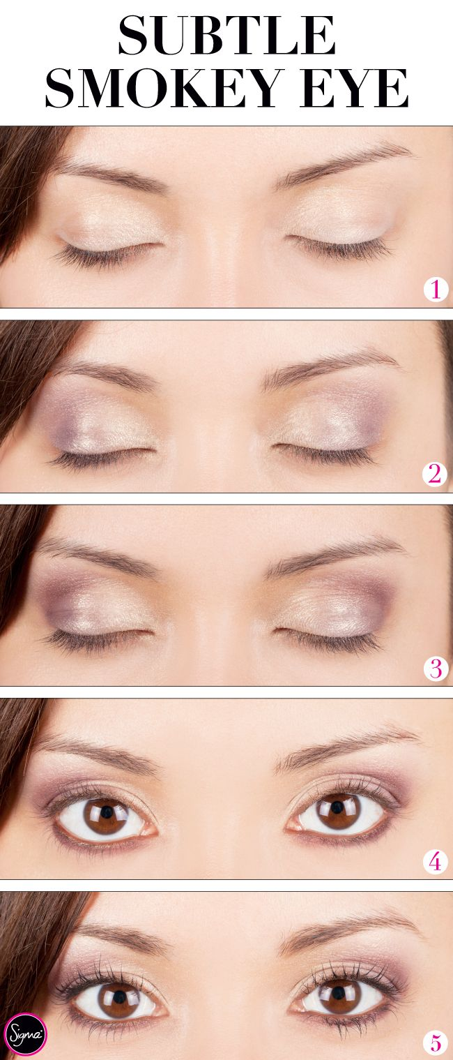 Want a look that works for both day AND night? A subtle smokey eye is the way to go! Use the Paris Makeup Palette to get the look: http://www.sigmabeauty.com/Paris_Makeup_Palette_p/ep004.htm?click=246498 Go to tutorial: http://www.sigmabeautytalk.com/2012/06/18/get-the-look-subtle-smokey-eye/
