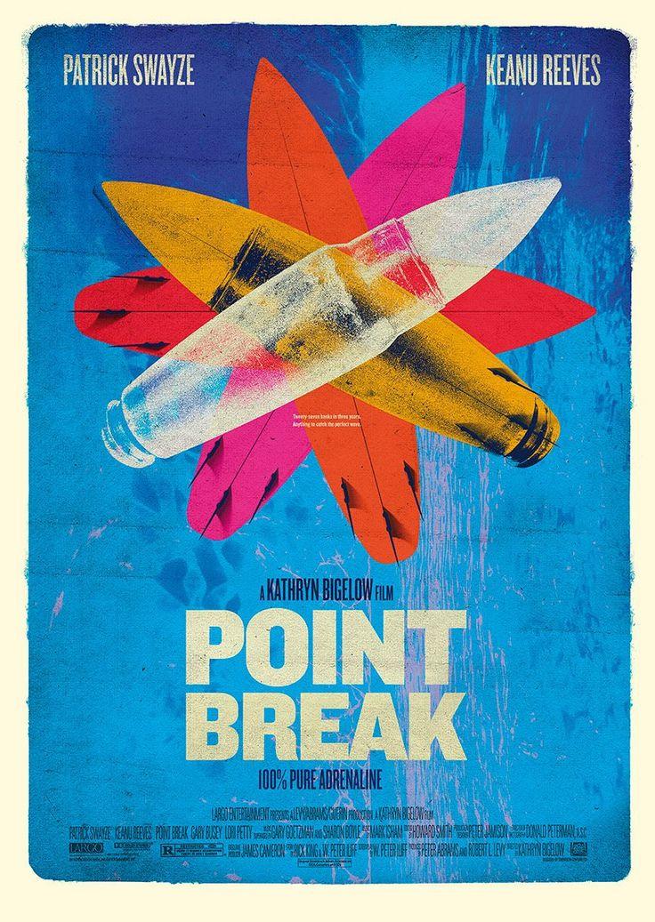 Point Break (1991) by Scott Woolston HD Wallpaper From Gallsource.com
