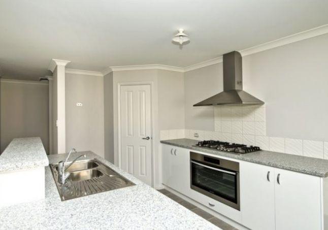 spacious open plan kitchen/dining/family