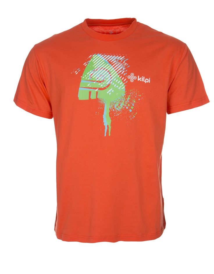 Men's T-shirt KILPI - ROSSY - orange