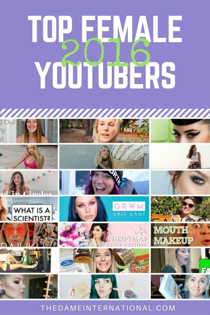 Top Female Youtubers 2016