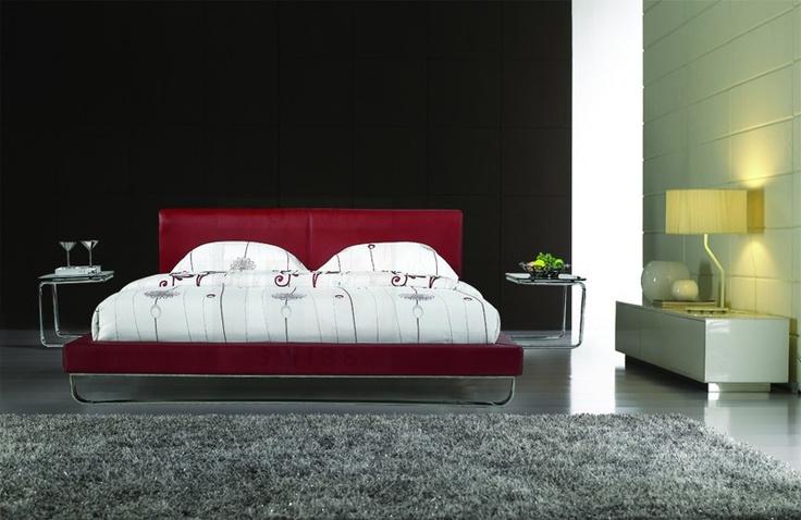 King Size Leather Bed Frame (Hepburn)   Tommy Swiss - Designer Furniture #lovethelook