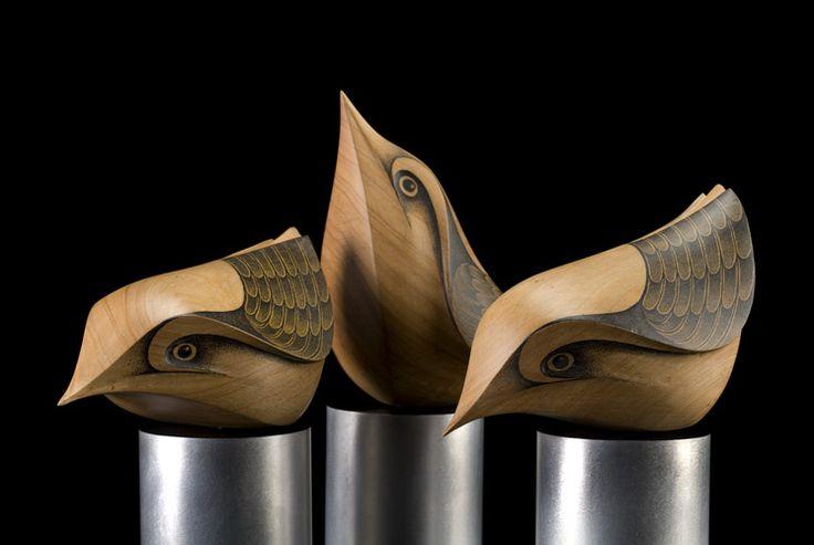 Matuhi (New Zealand Bush Wrens) by Rex Homan