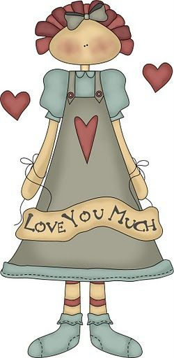 COUNTRY, LOVE YOU MUCH CLIP ART
