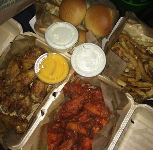 food, munchies, and wingstop image