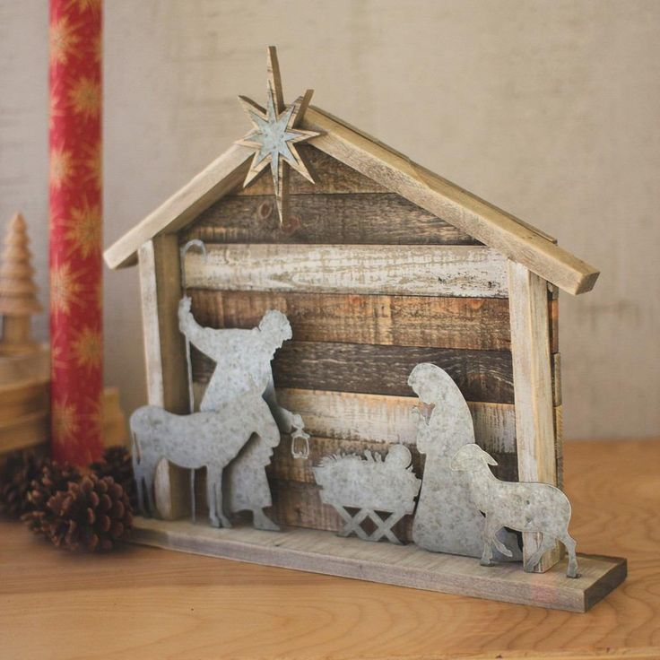 Kalalou Wood And Metal Nativity in 2020 (With images