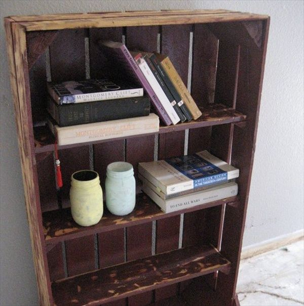 17 best images about pallet bookcases on the