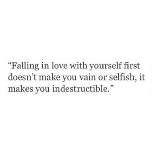 Making time for yourself DOES NOT make you selfish.