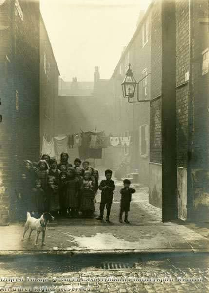 No-Man's Yard, Sneinton c1912