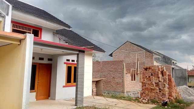 matrial dinding bata merah. Perumahan Graha Mulya Amanah