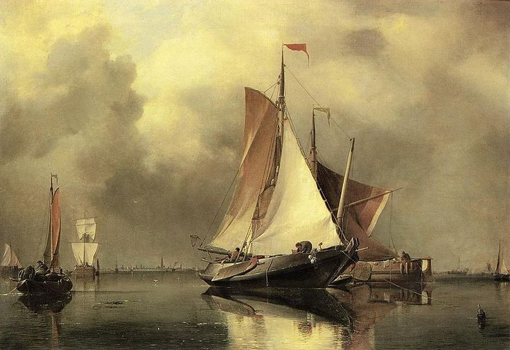 A Calm Day on the Scheldt