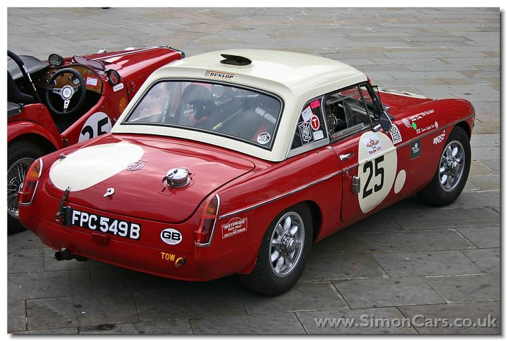 MORRIS GARAGES WORKS - MGB FIA Race Cars competed successfully in this form on many tracks: Sebring 12hr., Le Mans 24hr., Spa 1,000km, & Monte Carlo Rallies! As well as continuing on in Vintage Club Races, Rallies & Special Events... A True Sports Car!