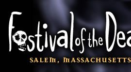Salem, Massachusetts Festival of the Dead celebrates Halloween and memorializes the witch trials with gothic balls and other events