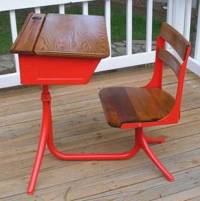 Restored Antique 1900 School Desk: Restoration Antiques, Schools Desks, Decor Ideas, Antiques Desks, 1900 Schools, Antiques 1900, Desks Antiques, Diy Refinishing, Diy Decor