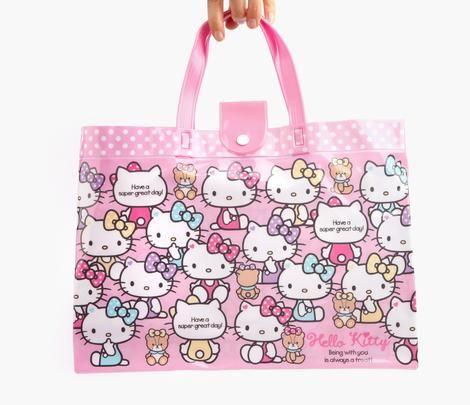 Hello Kitty Tote Bag: Teddy Bear