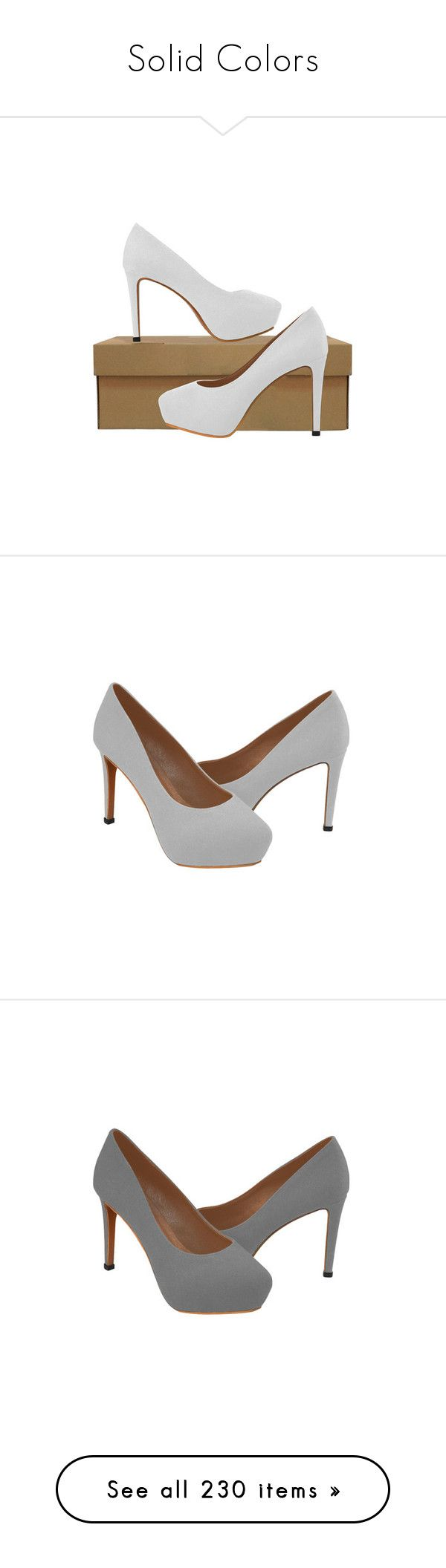 """""""Solid Colors"""" by wackyworkshop ❤ liked on Polyvore featuring shoes, pumps, high heel shoes, high heel court shoes, high heeled footwear, high heel pumps, gray pumps, gray high heel shoes, gray shoes and brown colour shoes"""