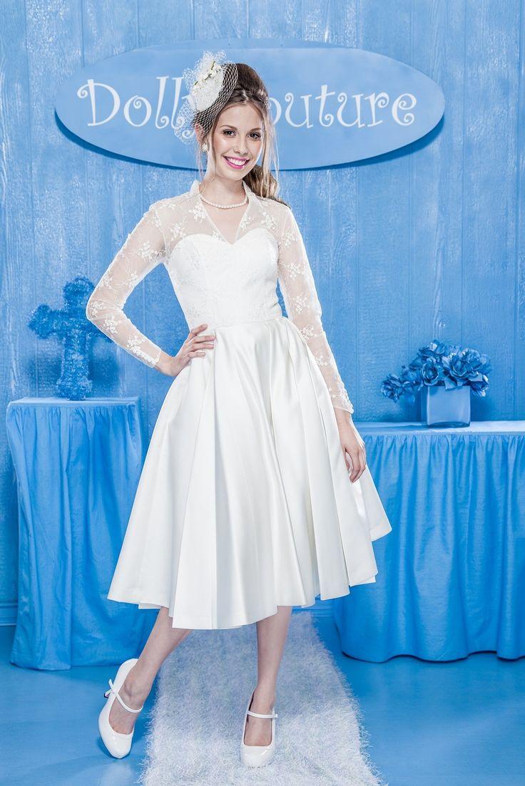 80 best wedding dresses images on Pinterest   Petticoats, Rockabilly ...