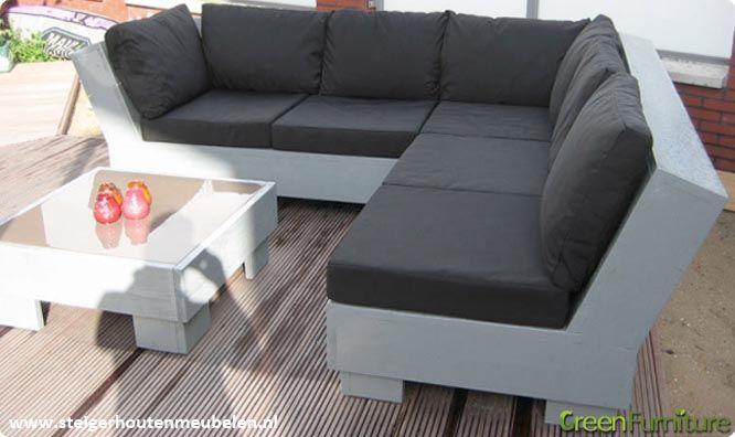 Kunstleer kussens loungebank buiten google zoeken tuin pinterest zoeken for Buiten patio model