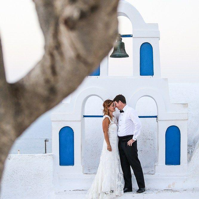 Recent wedding portraits at Santorini