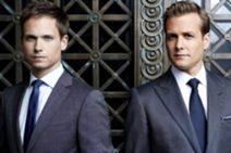 Gabriel Macht Patrick J Adams - Suits Harvey Specter Mike Ross