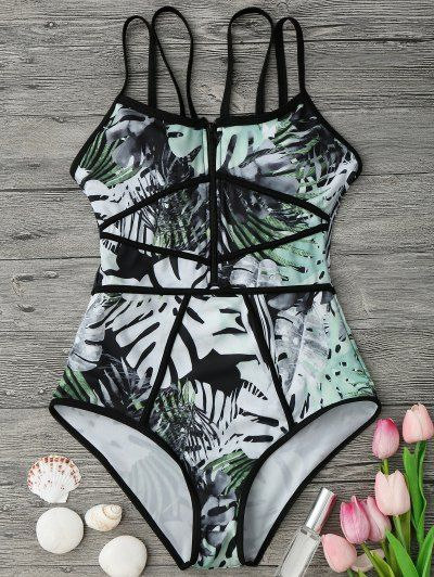GET $50 NOW | Join Zaful: Get YOUR $50 NOW!http://m.zaful.com/piping-tropical-print-one-piece-swimsuit-p_280927.html?seid=r4b67kr5561ukkbh5n45eo9id2zf280927