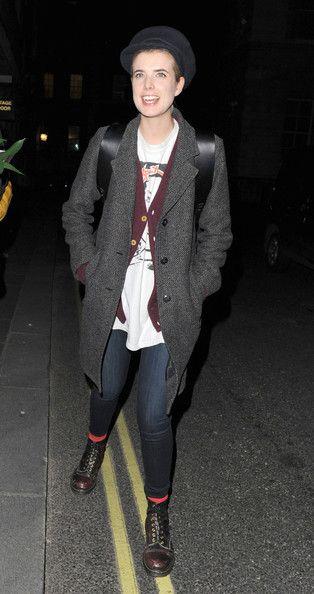 Agyness Deyn Punk outfit