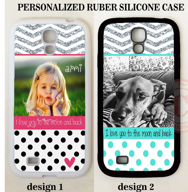 PERSONALIZED CUSTOM IMAGE PHOTO POLKA DOTS CHEVRON CASE For Samsung Galaxy S7 S6 #UnbrandedGeneric
