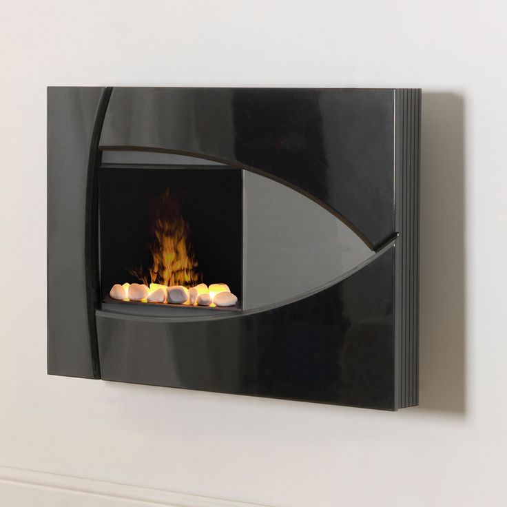 43 best wall mount electric fireplaces images on pinterest electric fireplaces modern - Contemporary fireplaces wall mounted ...