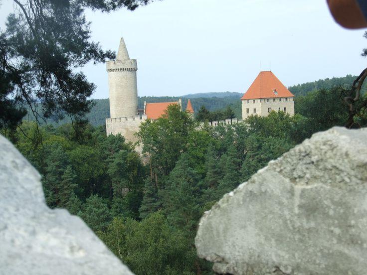 Very classical view to Kokořín