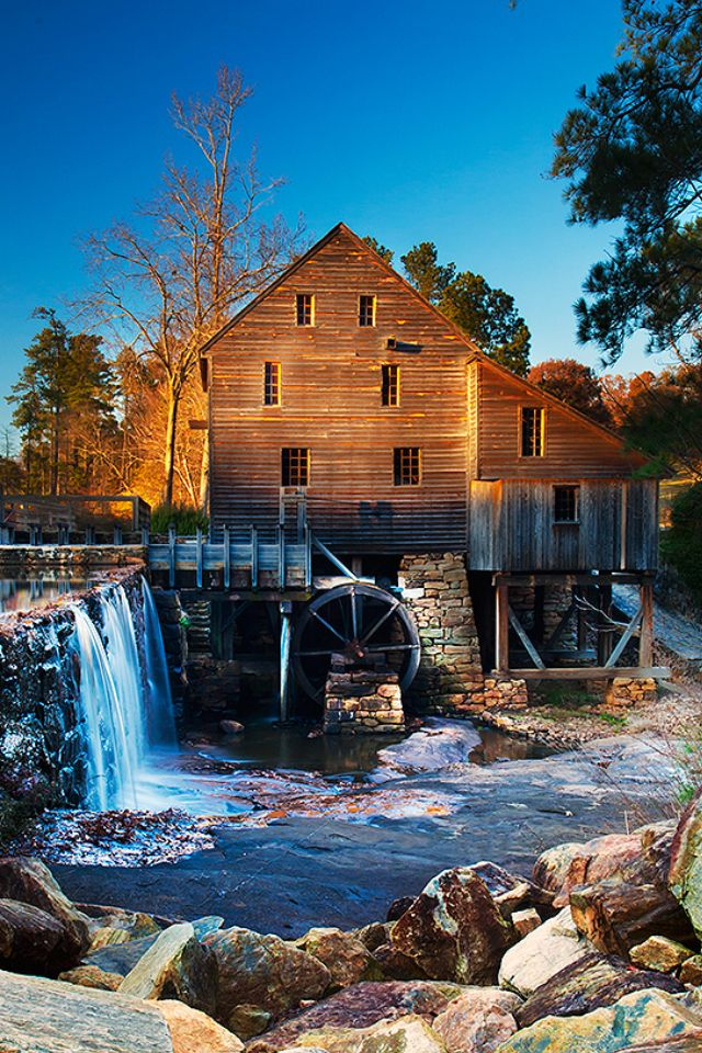 Yates Mill Pond, Raleigh, North Carolina...Quaint and beautiful. :)