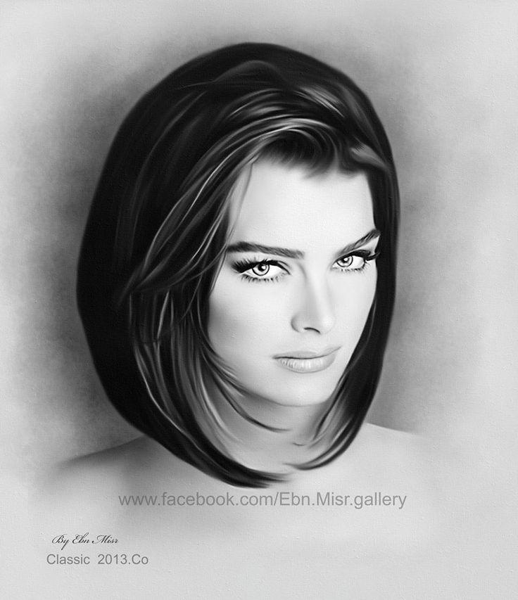 Brooke Shields By Ebn Misr Art Gallery