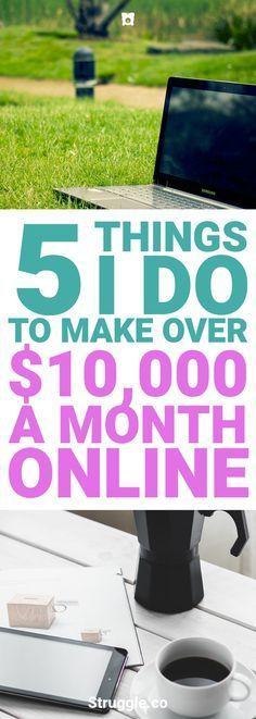Möchten Sie mit Bloggen Geld verdienen? Oder vielleicht möchten Sie online Geld verdienen durch …   – jobs