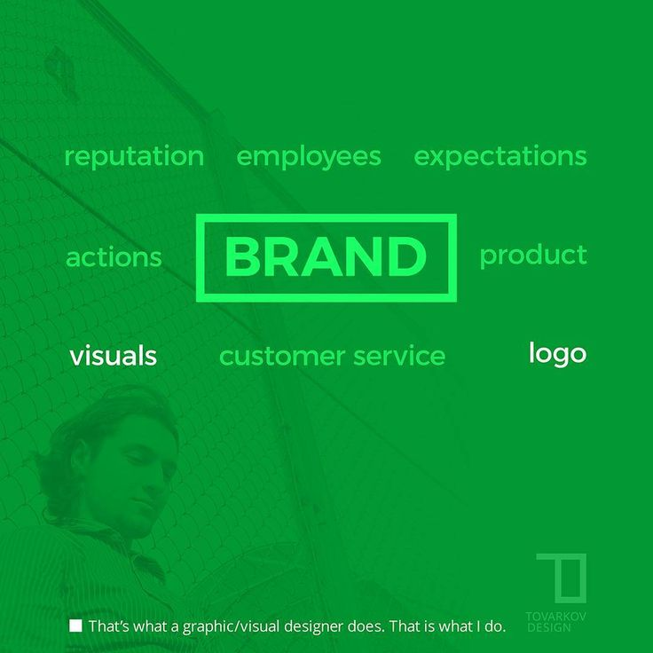 Logo is not a brand.